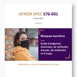 Masque barrière AFNOR en tissu : comment le fabriquer, le coudre, le laver