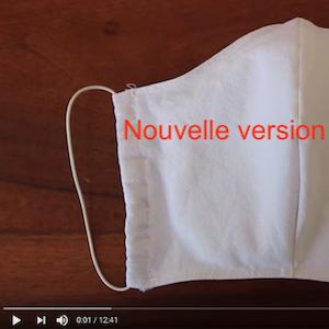 Comment coudre le masque de protection du CHU de Grenoble ?