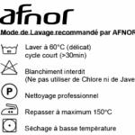 Guide de lavage des masques en tissu (60°C en machine pendant 30 minutes)