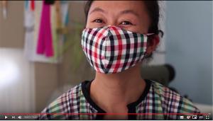 masque tissu pollution