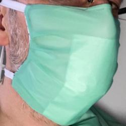 Patron du masque buccal d'après le Dr Chen