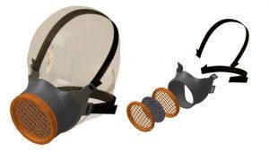 Masque de protection cartouche OCOV