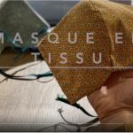 Masque double épaisseur en coton avec filtre