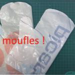 Fabriquer des moufles en soudant des sacs en plastique pour se protéger