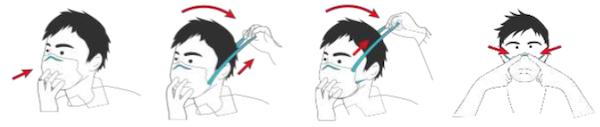 Comment utiliser le masque de protection AFNOR