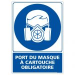 Masque de protection industrie, masque respiratoire chimie