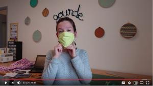 Comment réaliser le masque AFNOR à plis ? Tuto couture