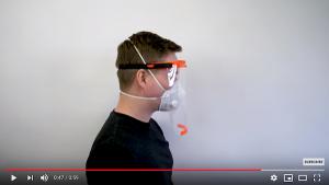 Impression 3D avec Prusa d'un support de visière de protection Covid-19